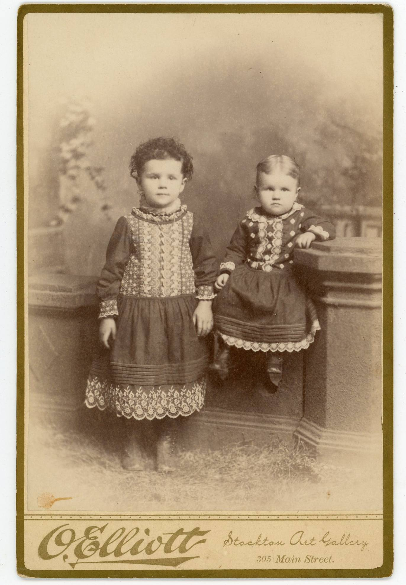O. Elliott, photographer, of Stockton, California