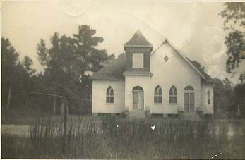 Mt Olive Christian Church Hyde County Early 1900s
