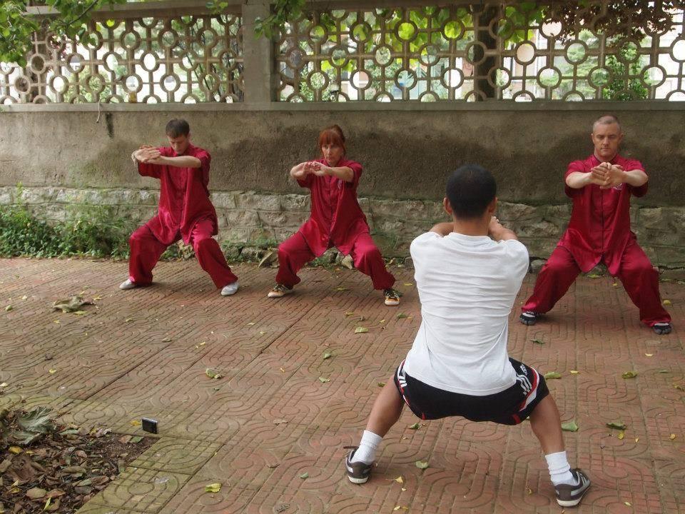 Ma Bu - Horse Stance training