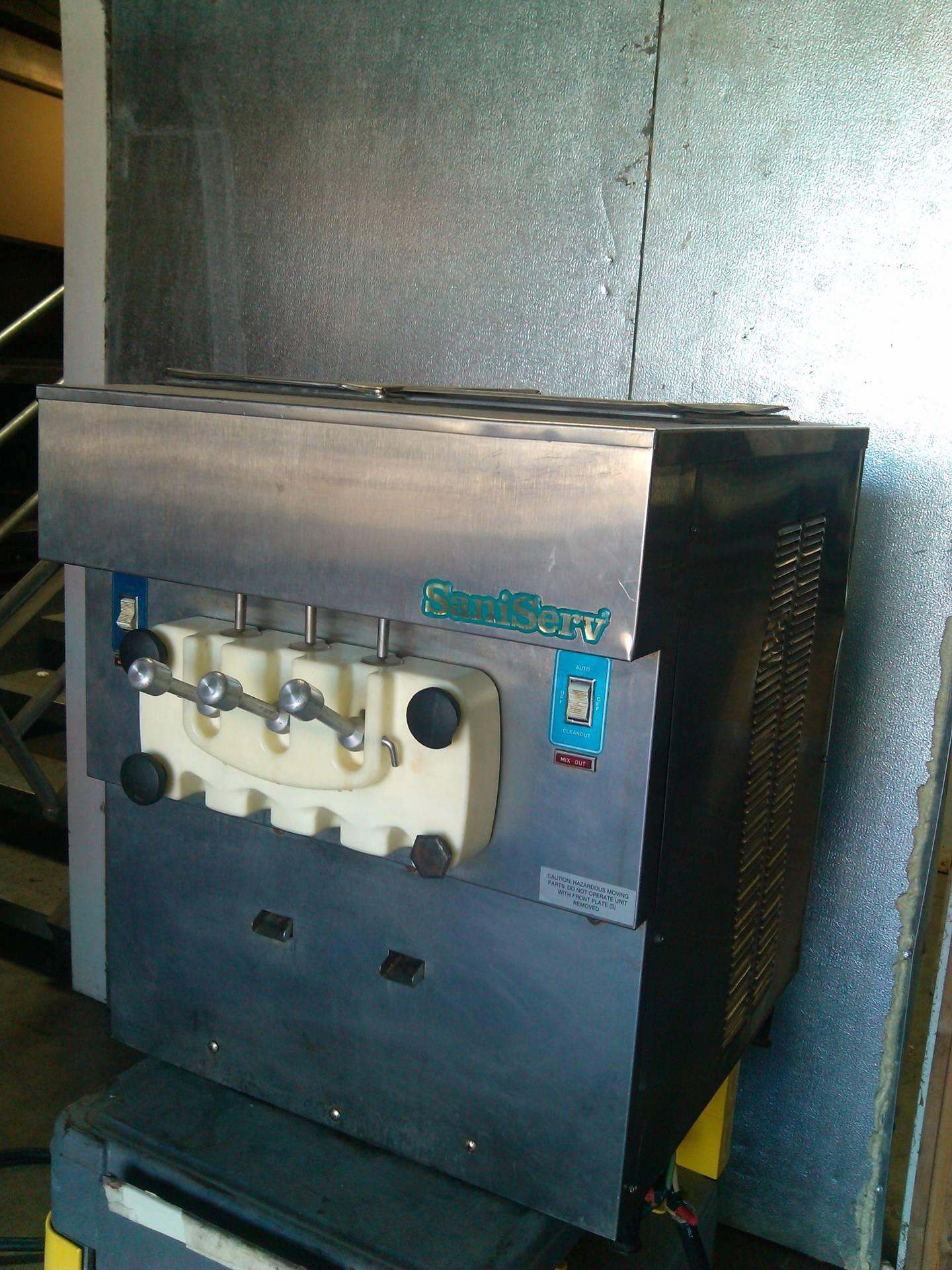 SaniServe Yogurt Machine