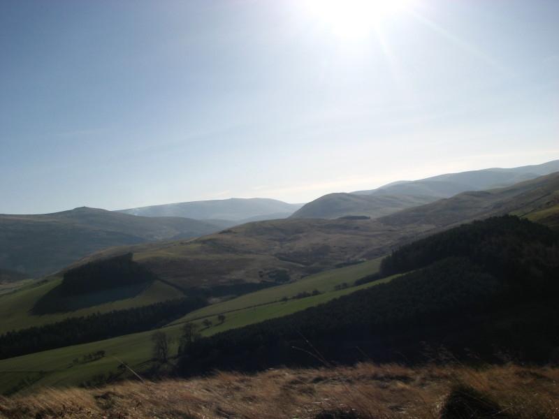 views over cheviot hills