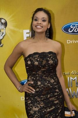 "Demetria McKinney At The ""41 NAACP Image Awards"" **February 26, 2010**"
