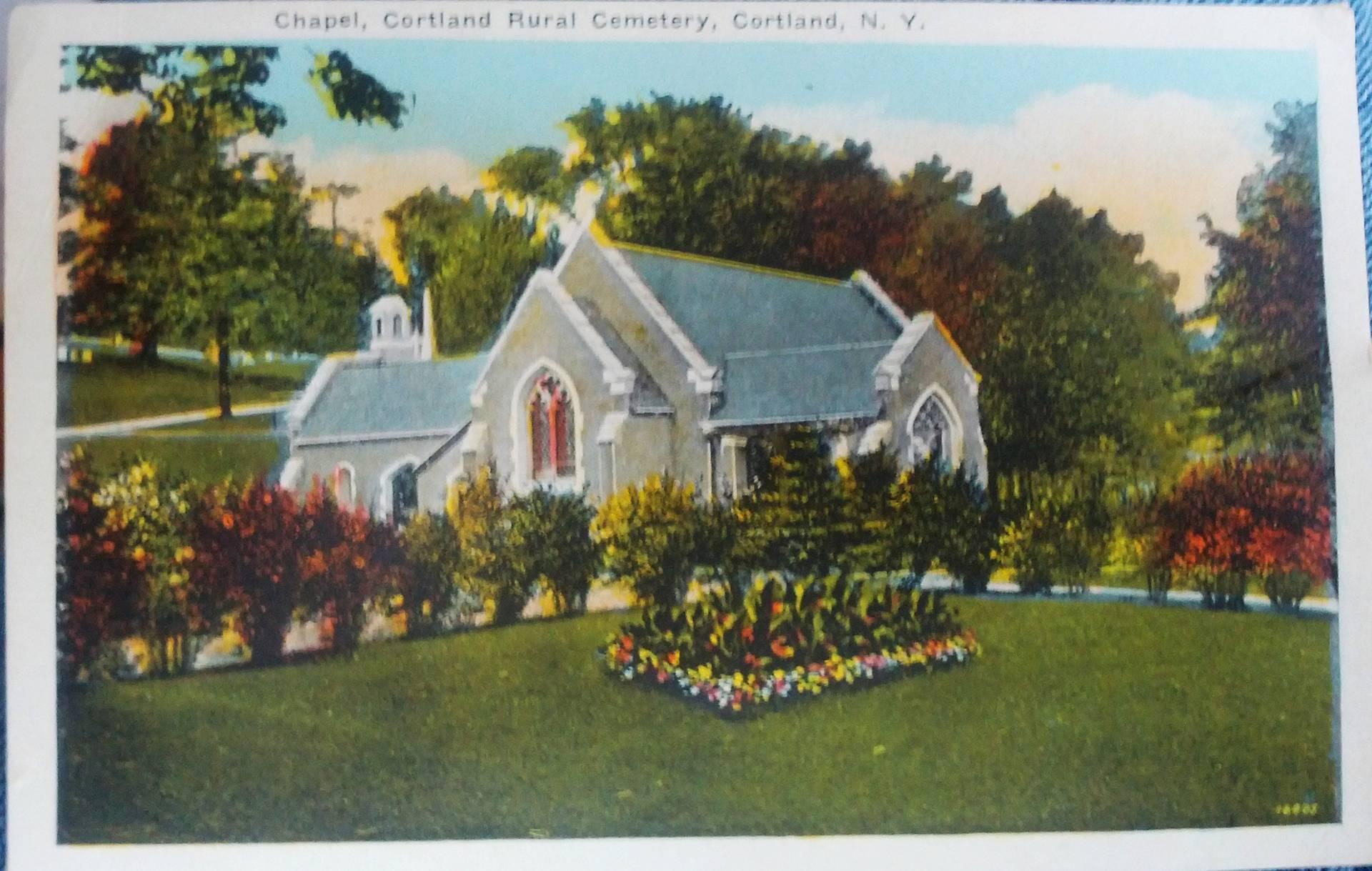 Postcard of Chapel