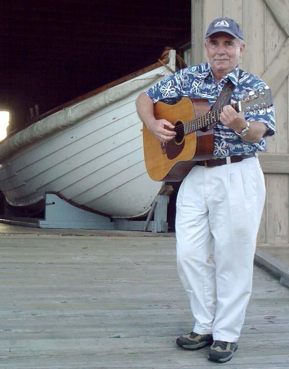 Jim on boat Ramp