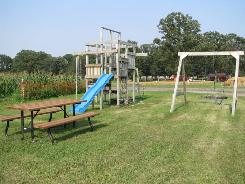 Large Play Structure & Lookout Tower