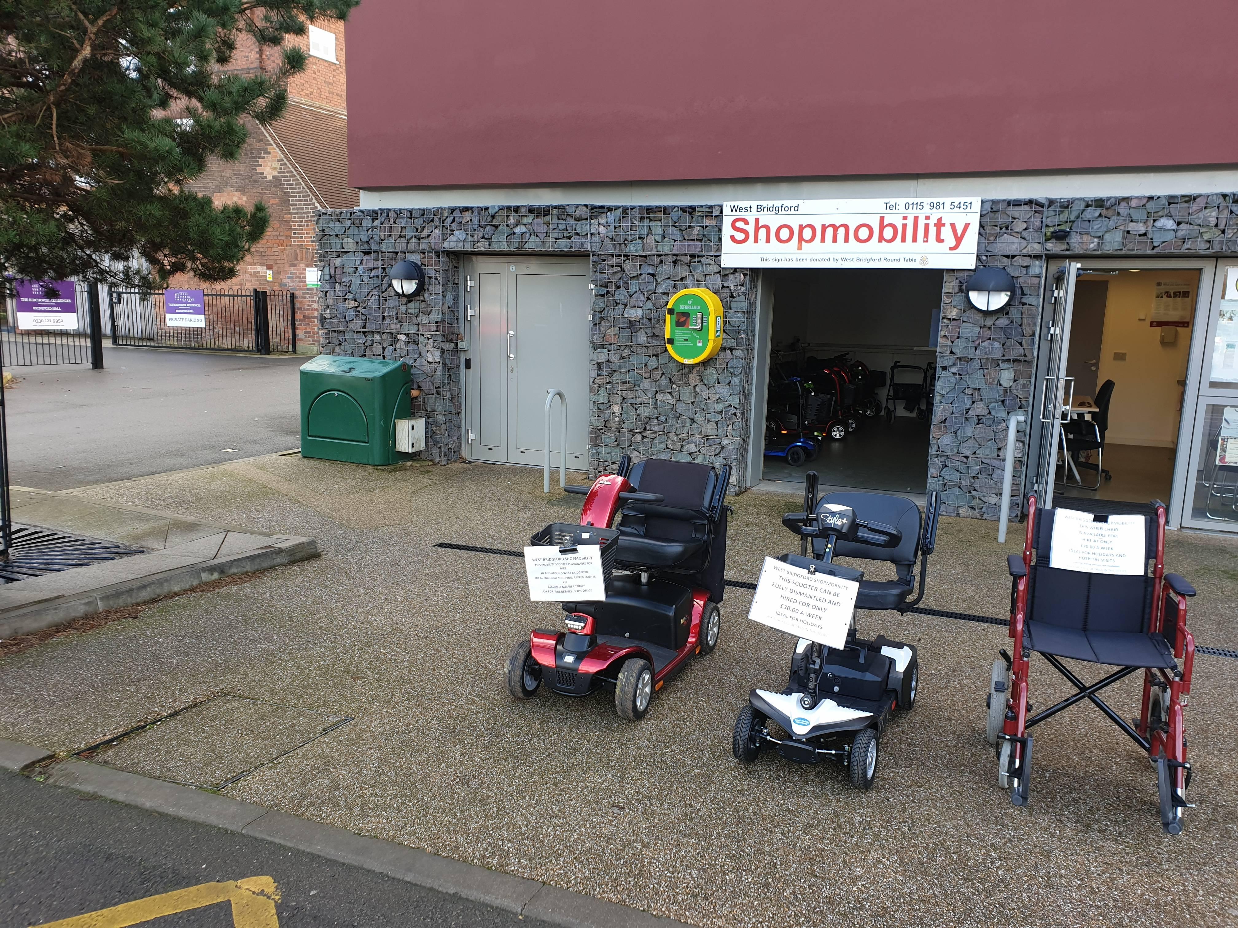 Shopmobility Office