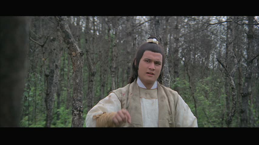 Fu Sheng in the forest