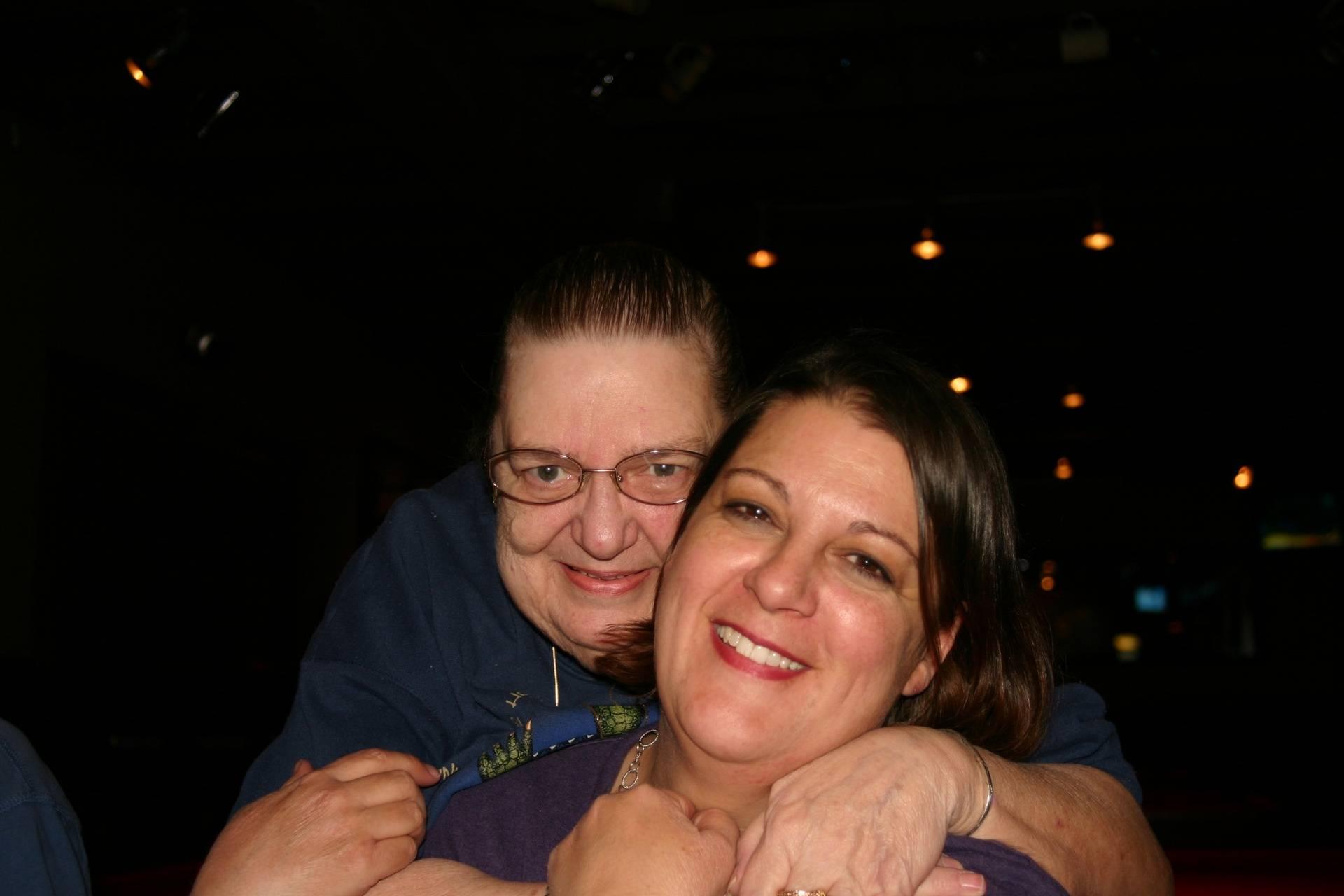 My mom, Diane