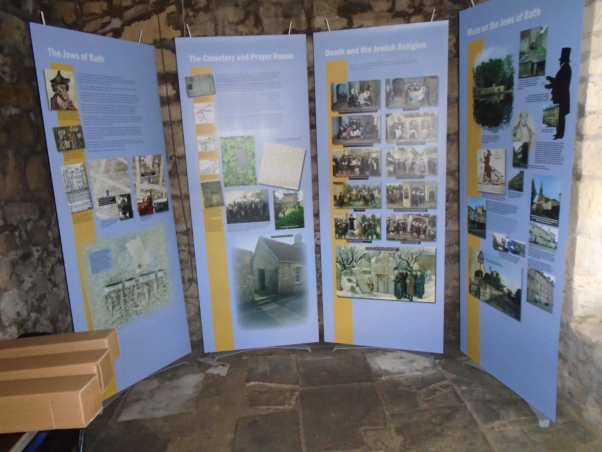 New Exhibition Panels