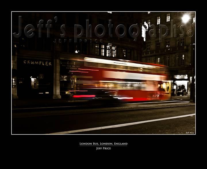 London Bus, London, England