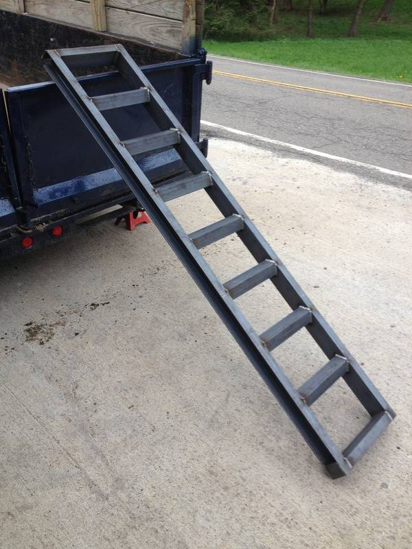 dump trailer ramps
