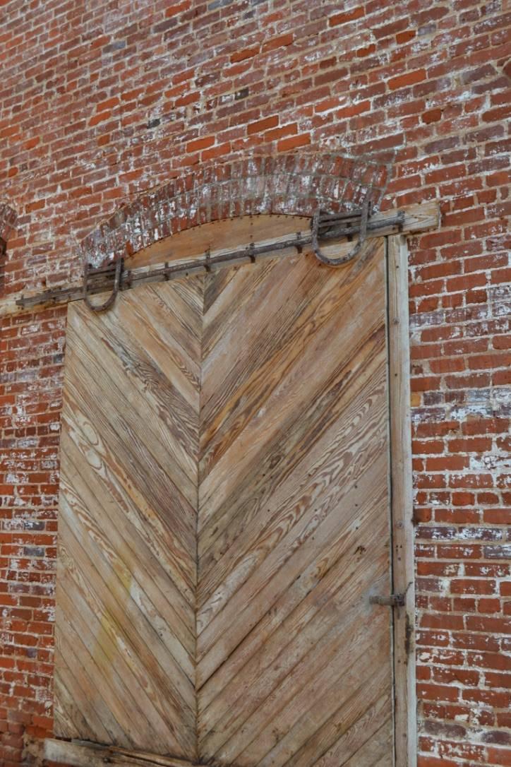 An original barn door