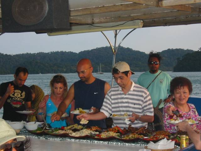 Langkawi Charter Yacht Cruise Dinner