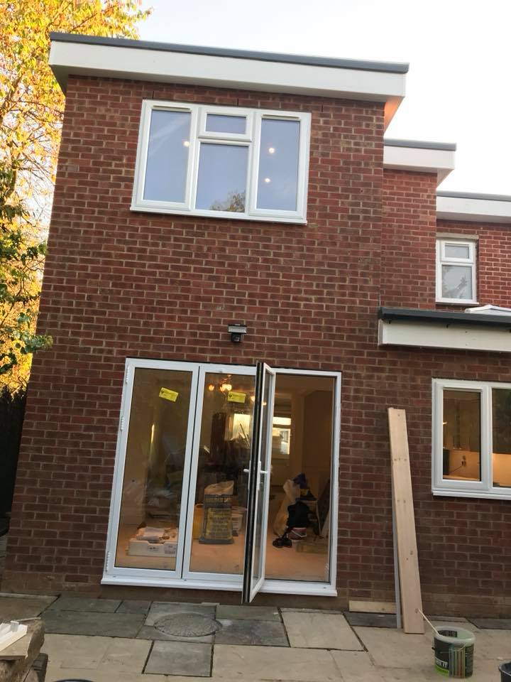 Structural Works Rear Extension