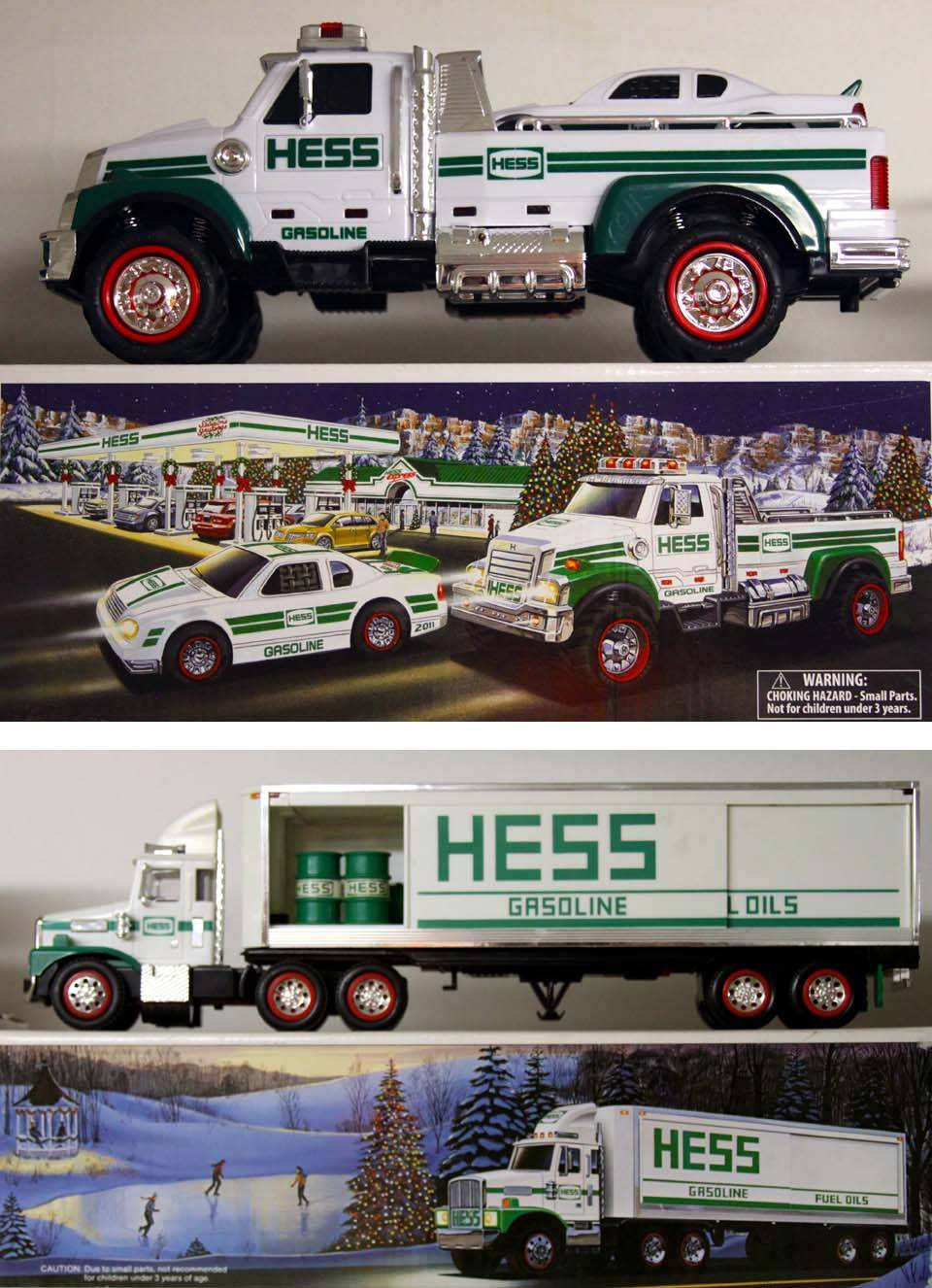 Hess Corp. Miniatures