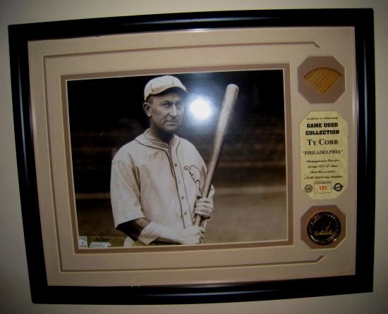 Ty Cobb Highland Mint Game Used Bat
