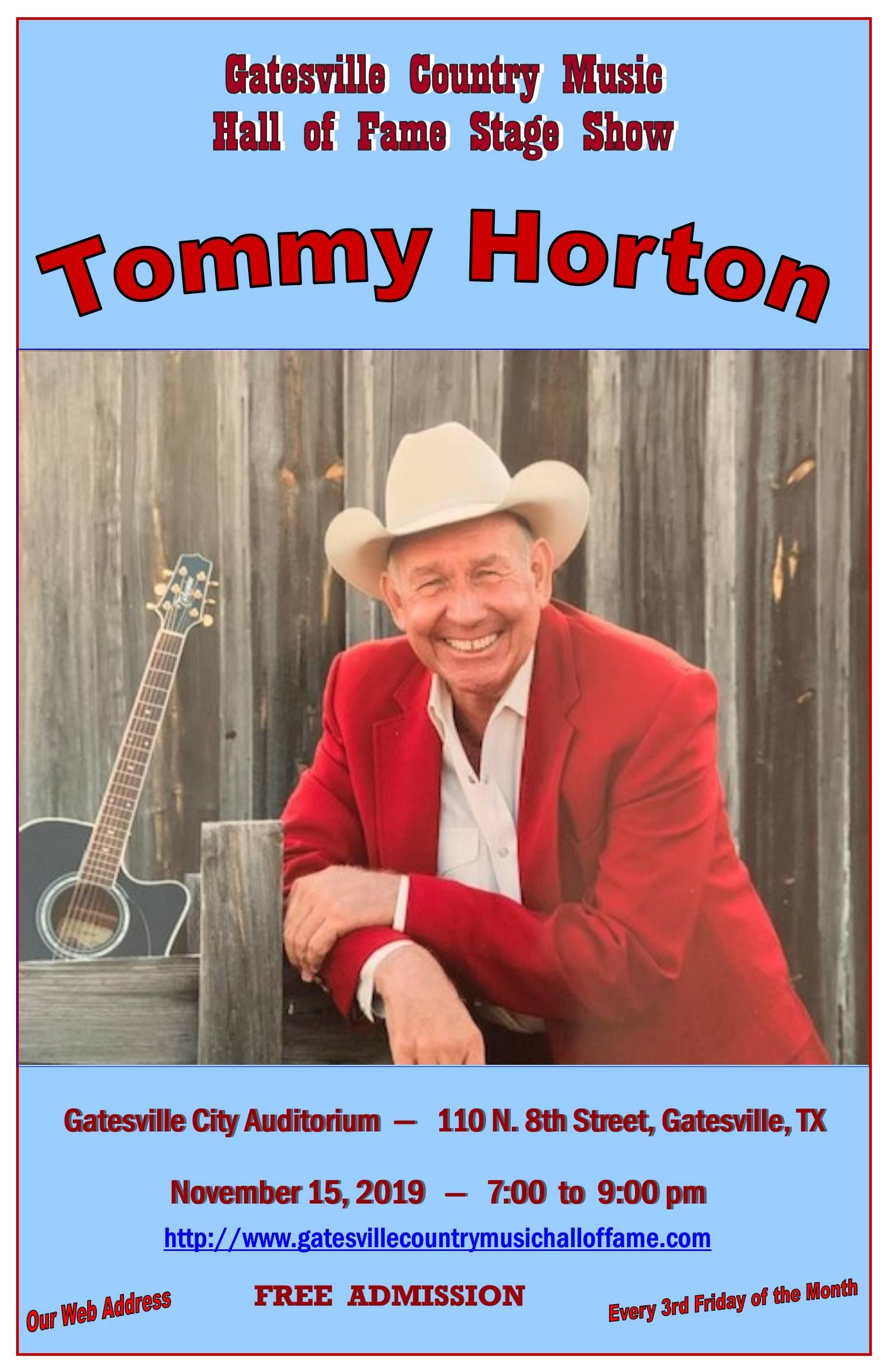 Tommy Horton Nov. 15, 2019