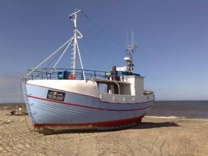 typical danish fishermansboat