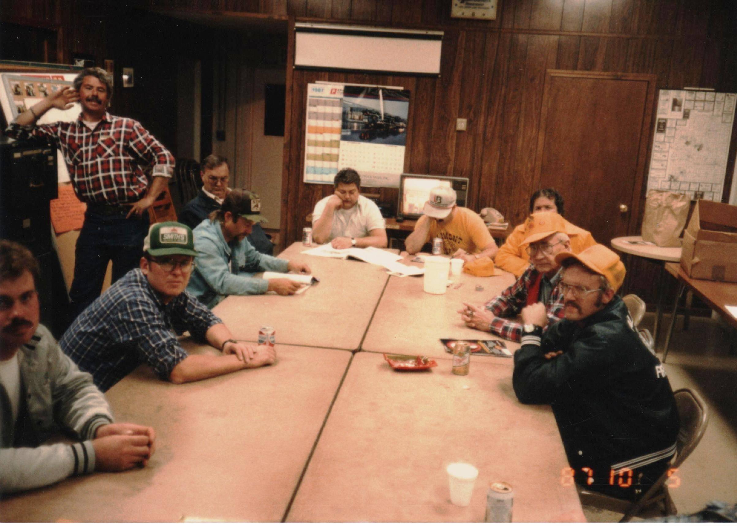 1987 Fire Meeting