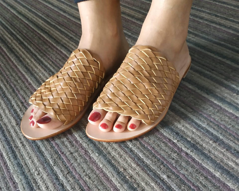 Thaqafah woven sandal
