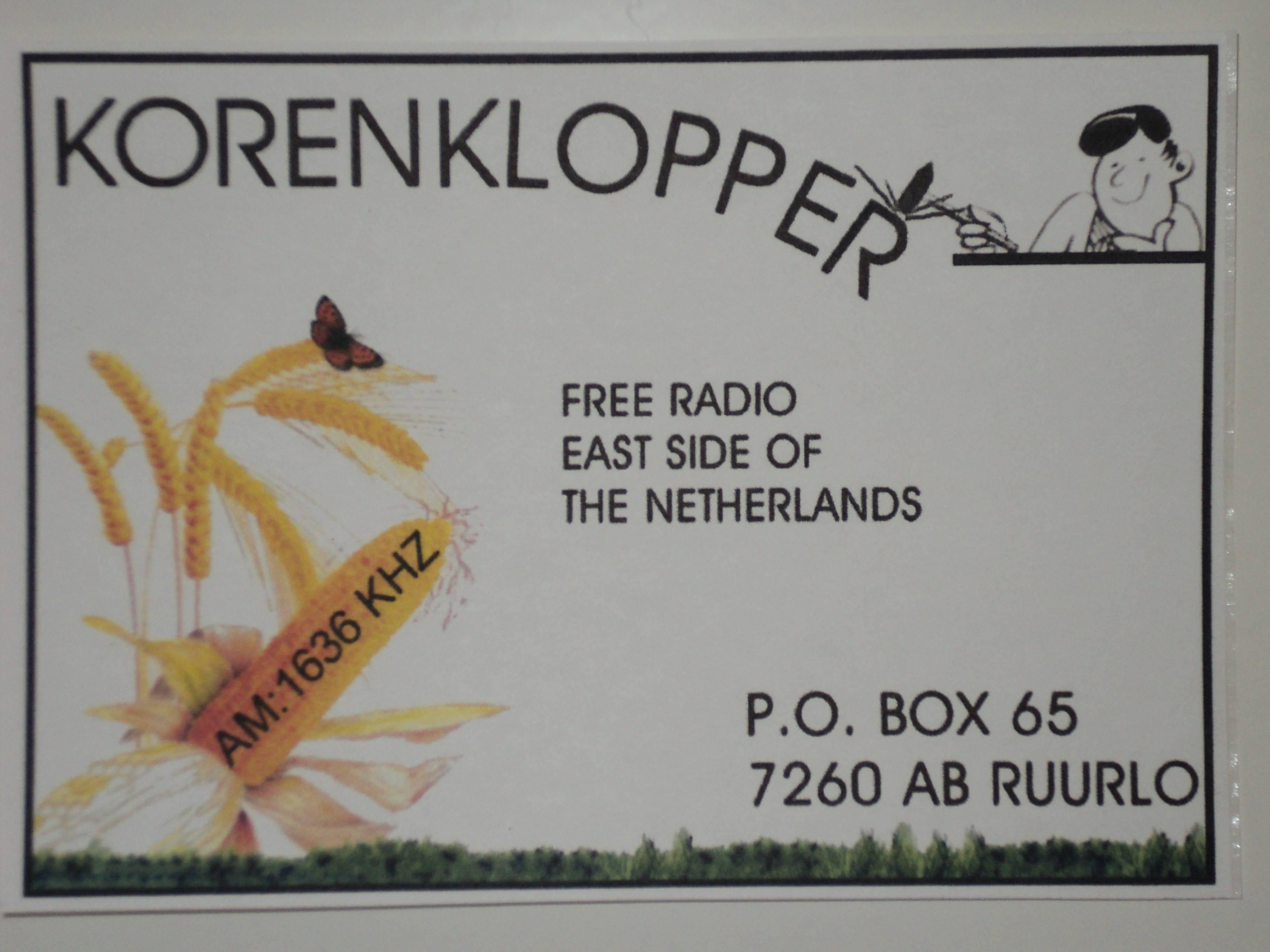 Radio Korenklopper