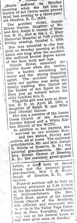 Garner, Connie E. 1954