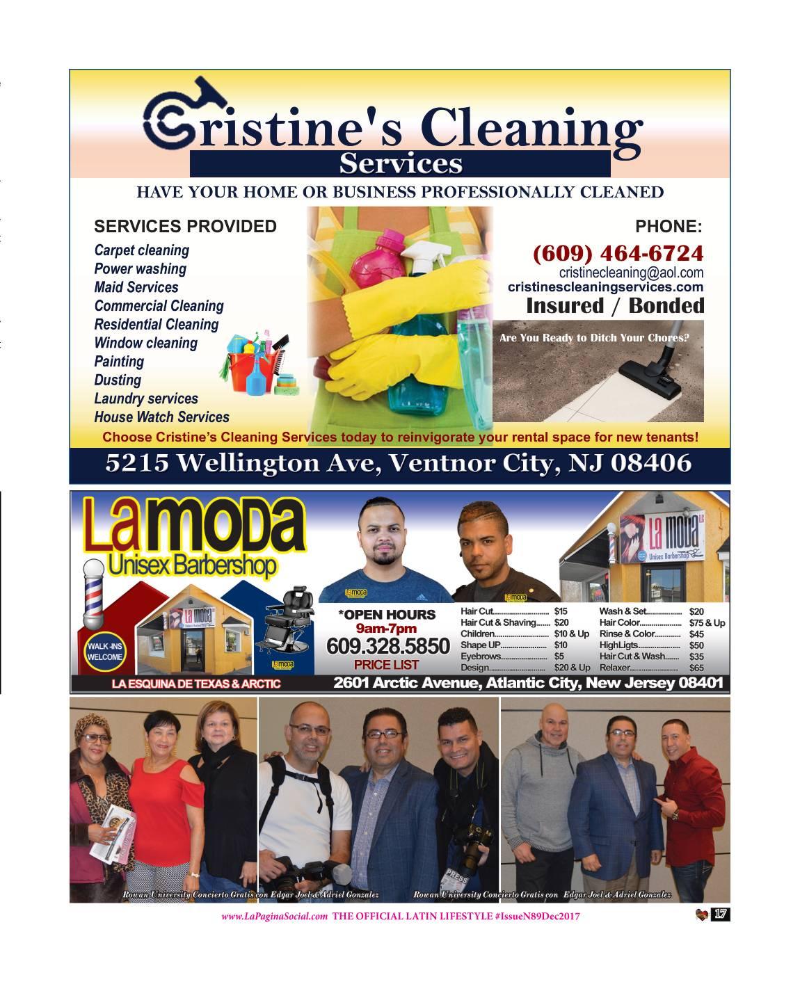 CHRISTINE'S CLEANING / LA MODA
