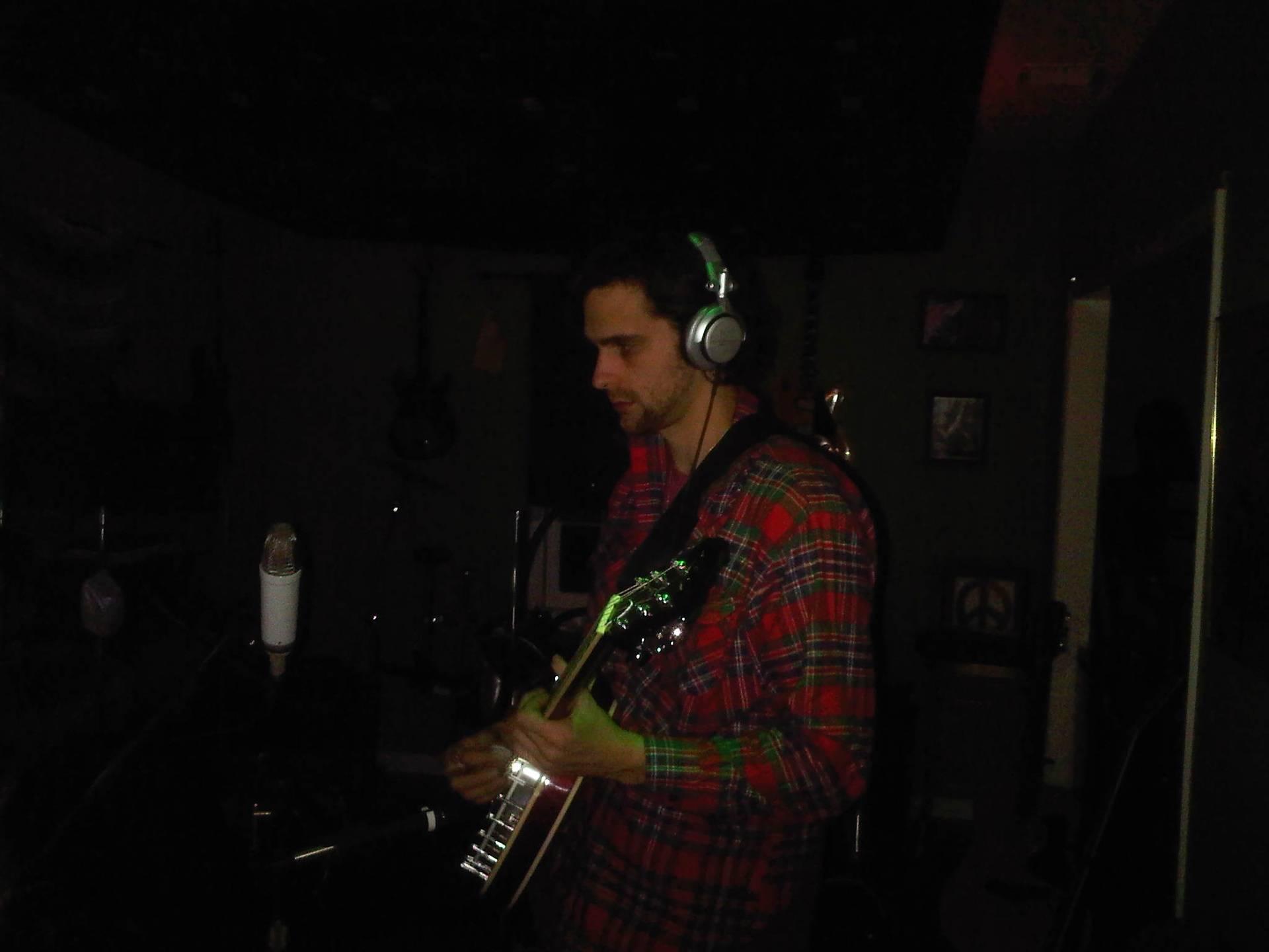 Joe C in studio 2