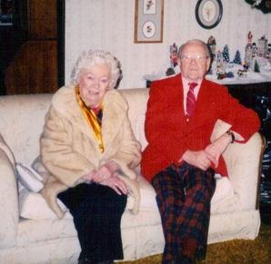 Cory's parents-Fay & Jim Hampson