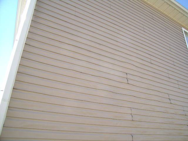 Vinyl Siding Damage