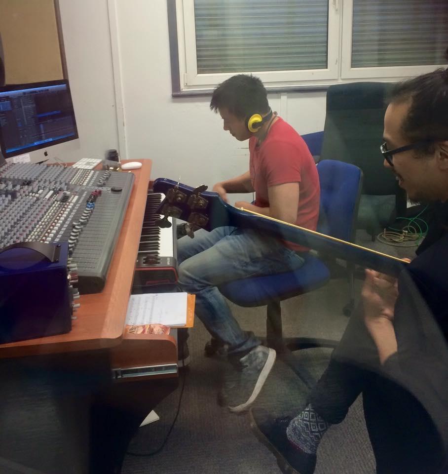 Recording Little Man