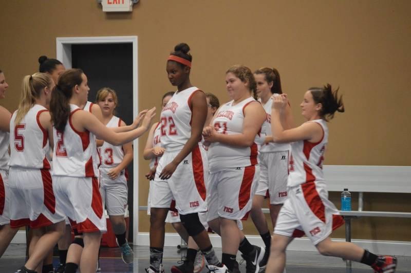 Lady Falcons Basketball
