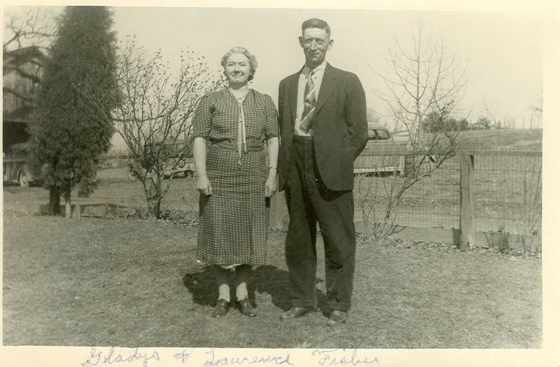Gladys and Lawrence Fisher