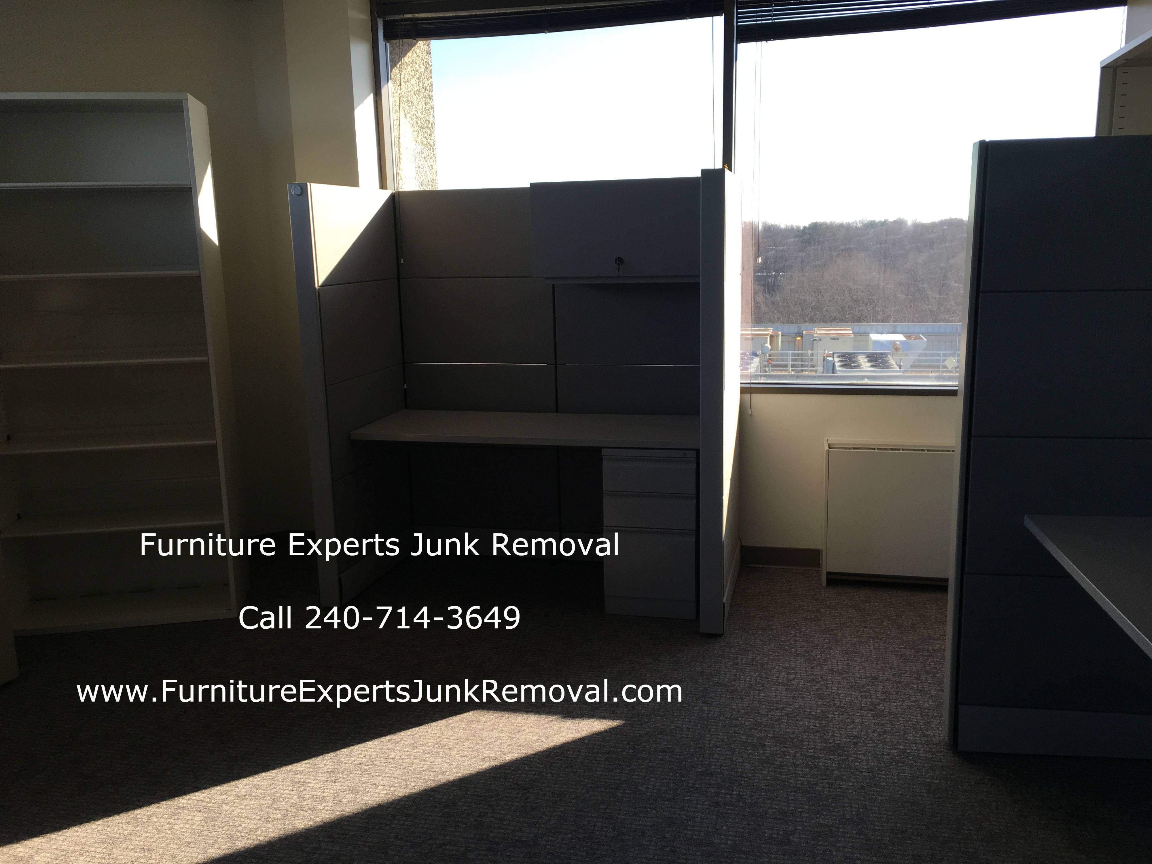 Junk office furniture removal in Springfield VA