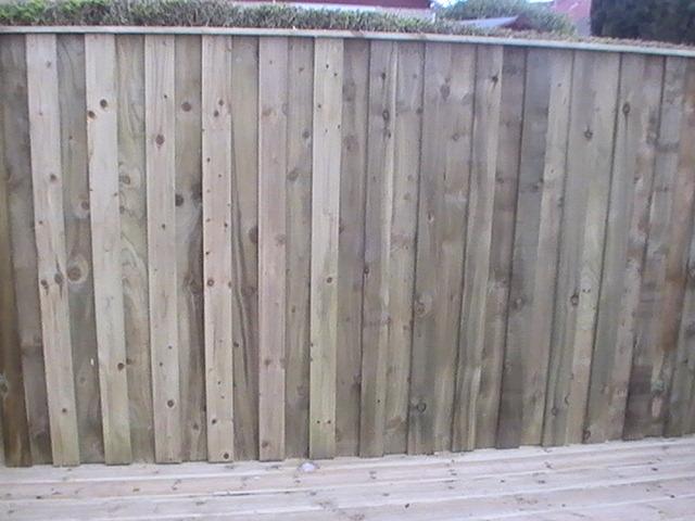 Timber Fence Vertical Slats
