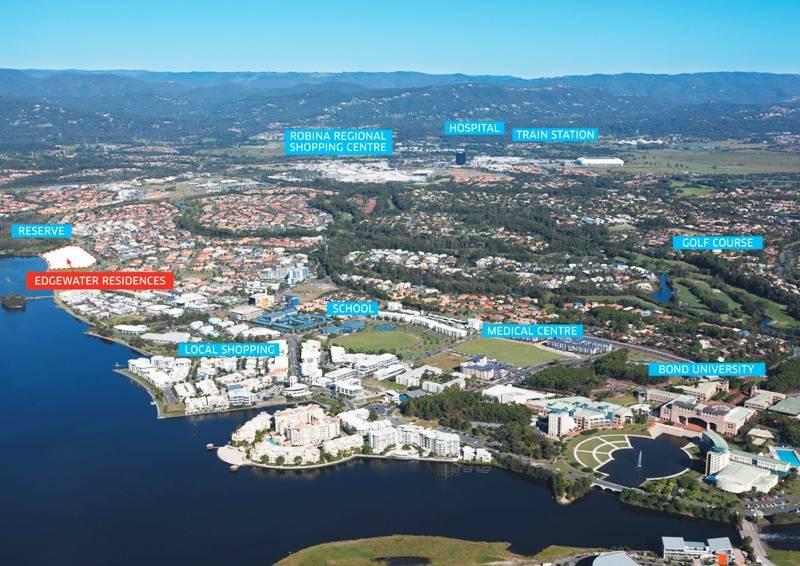 Bond University, Edgewater Development