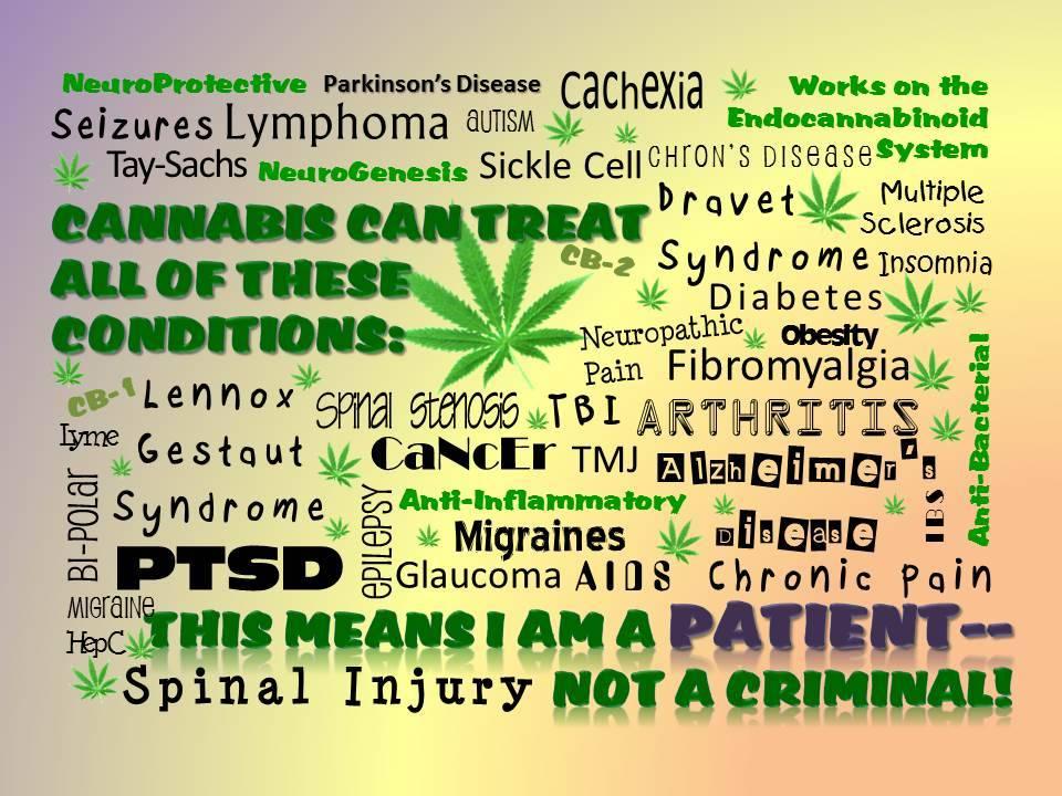 I am not a Criminal.  I am a Patient!