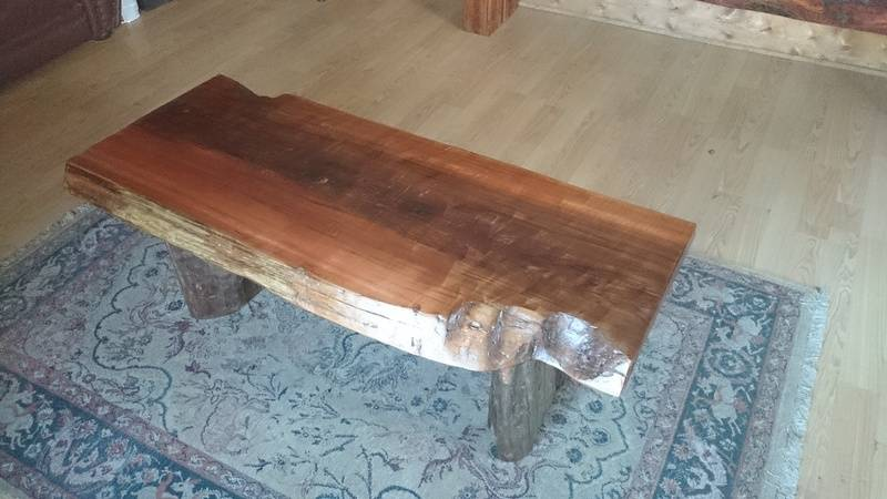 Drift Wood Cedar Coffee table