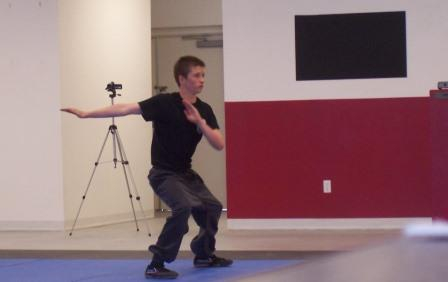 Traditional Kung Fu Stance Training