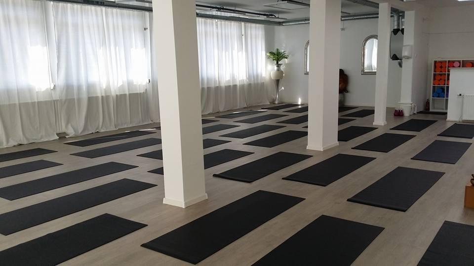 Onze yogazaal