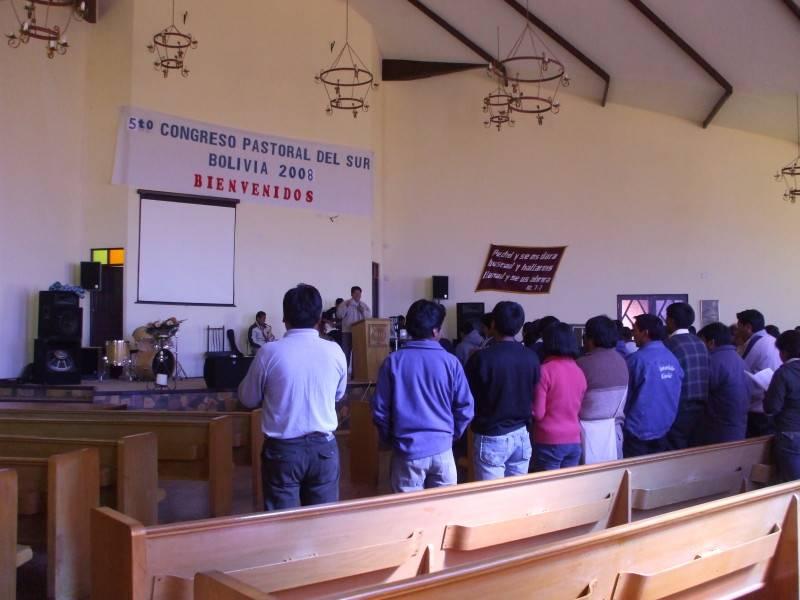 Conferencia Pastoral en Sucre