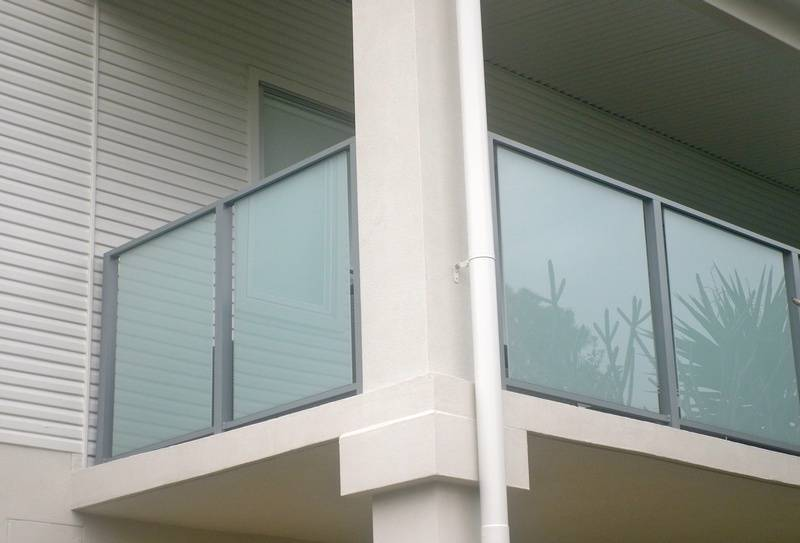 Translucent Glass Balustrade