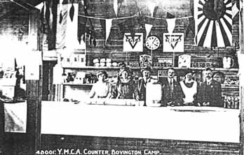YMCA canteen in France