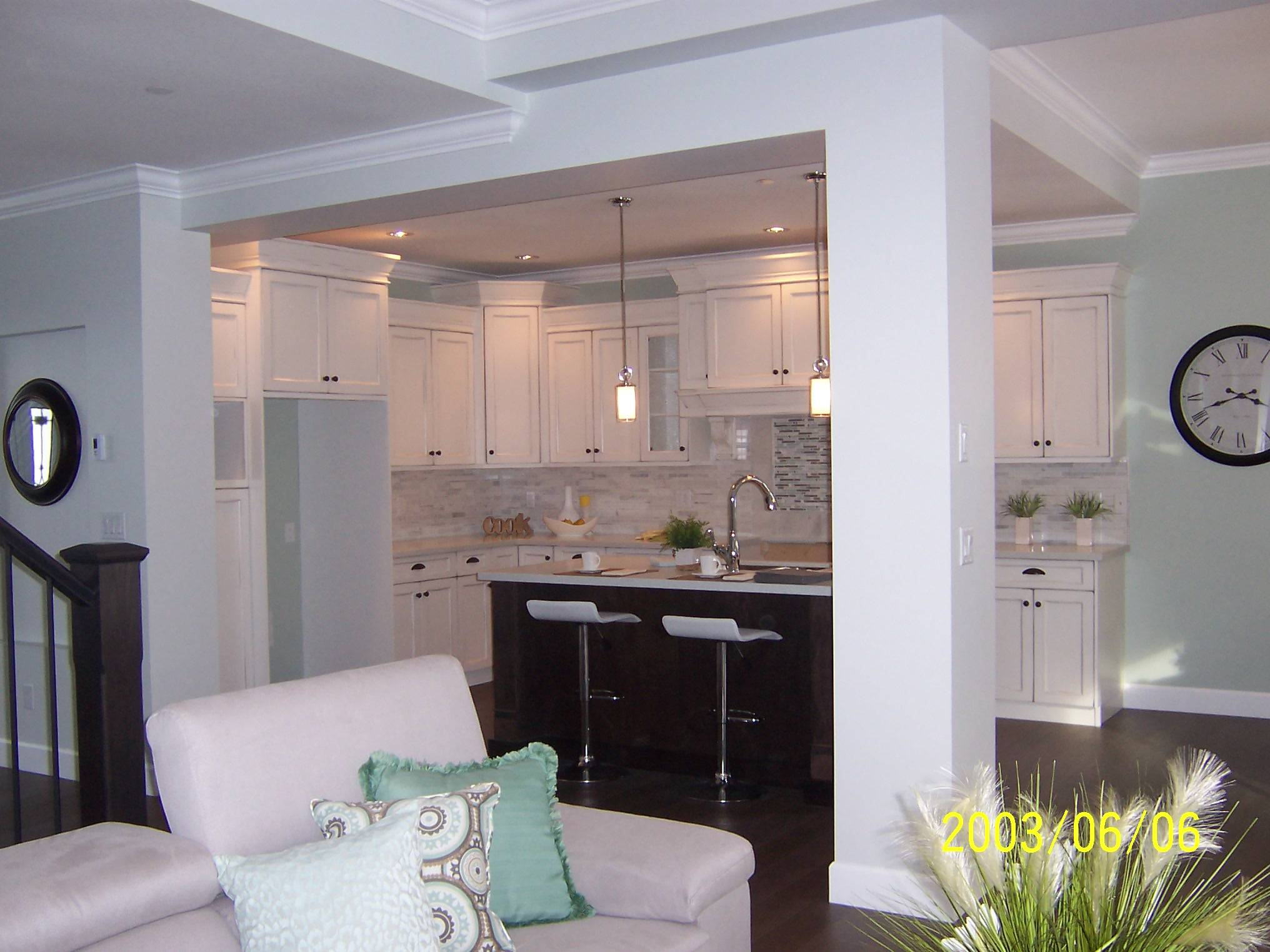 Great Room to Kitchen