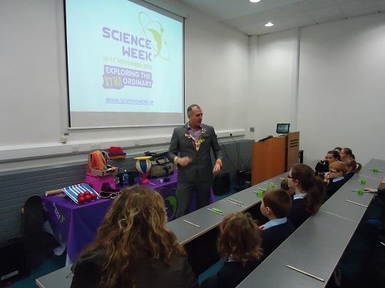 Dr Ken Farquhar teaching us in AIT