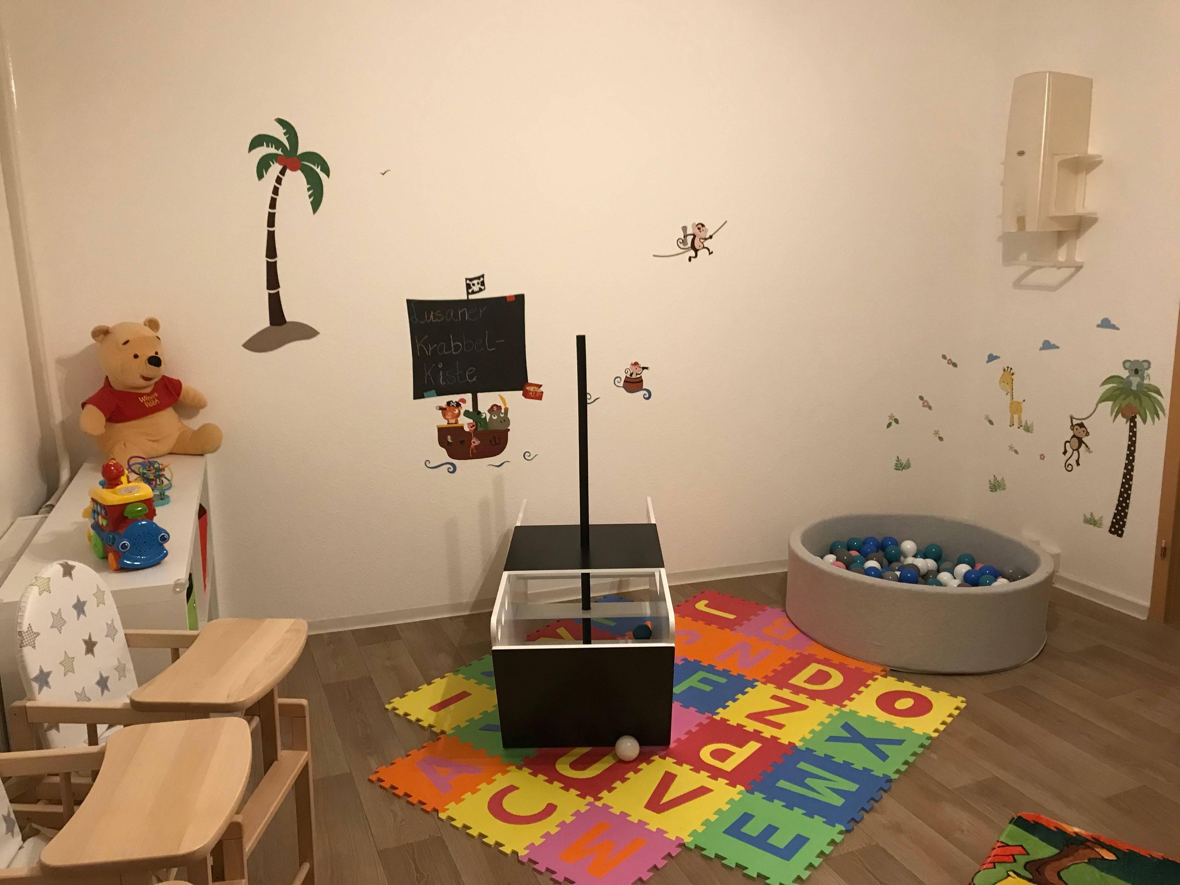 Spiel- und Essbereich