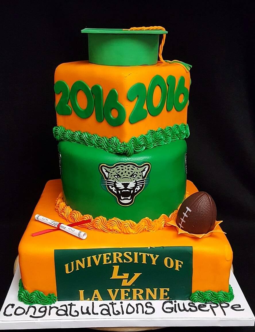 University of LaVerne Grad Cake