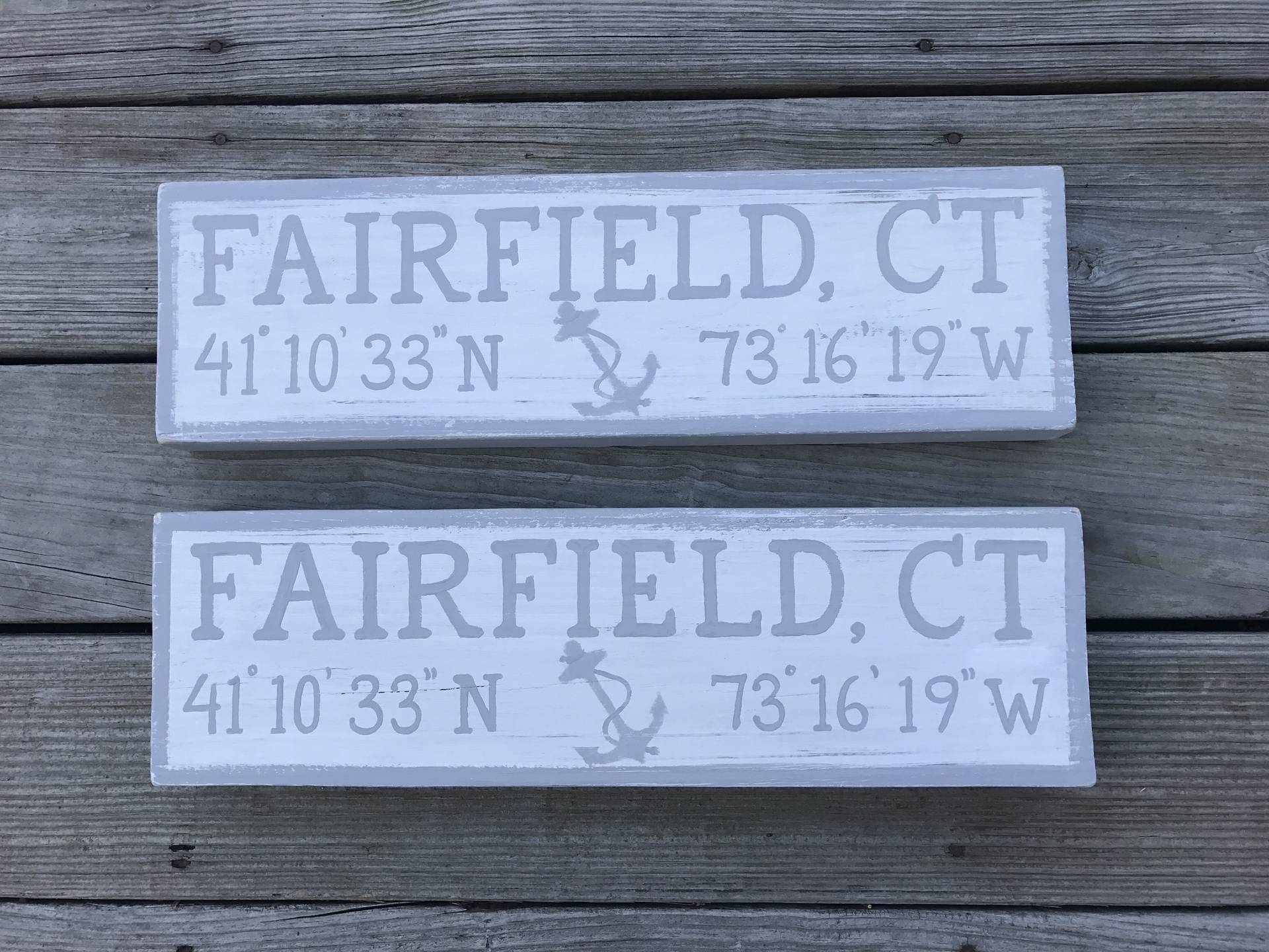 Fairfield, CT sign