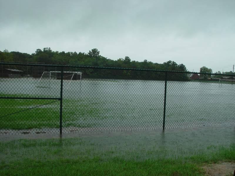 Flooded South U10 field
