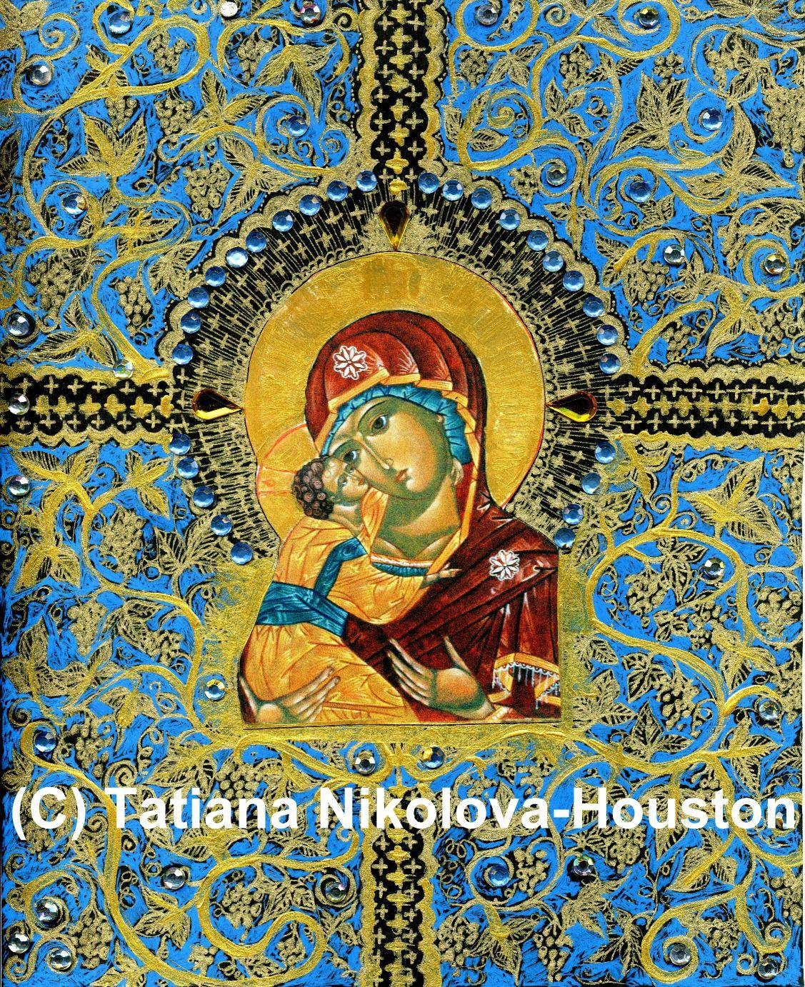 Theotokos in Vines